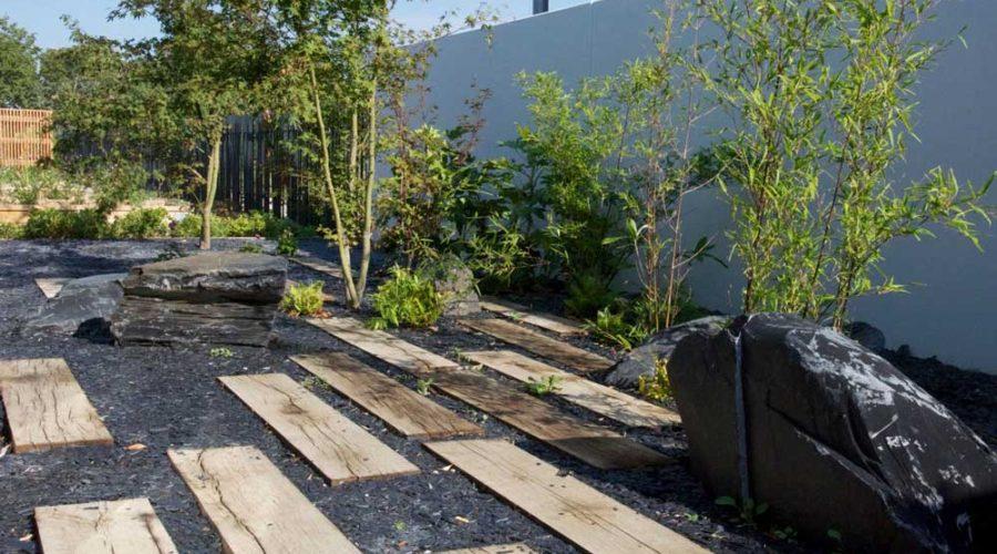 Création jardin Zen à Blagnac
