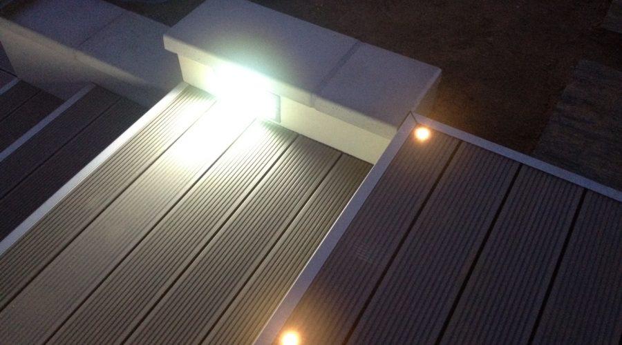 Eclairage escalier à Saint-Orens