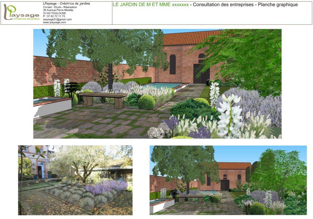 architecte paysagiste toulouse excellent le jardin niel toulouse france michele miquel. Black Bedroom Furniture Sets. Home Design Ideas